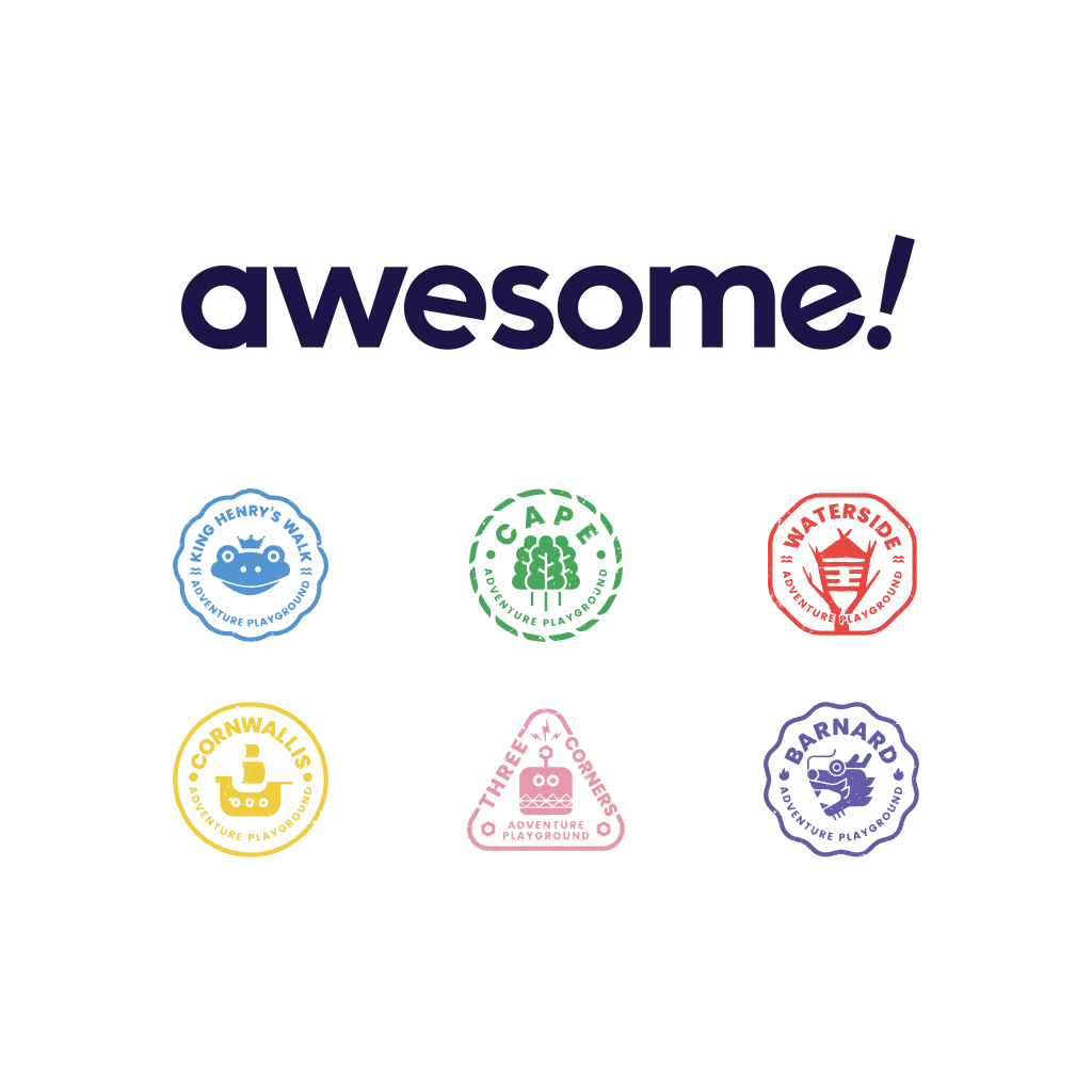 Awesome's core logo and brand architecture