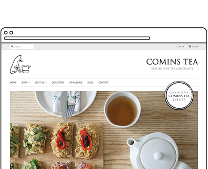 Comins Tea House Case Study