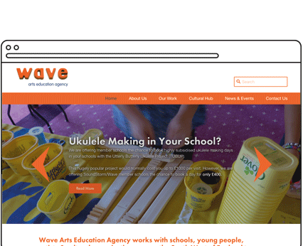 Wave Arts Education Agency Case Study