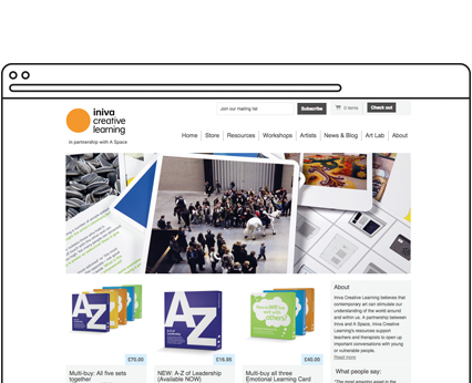 Iniva Creative Learning Website
