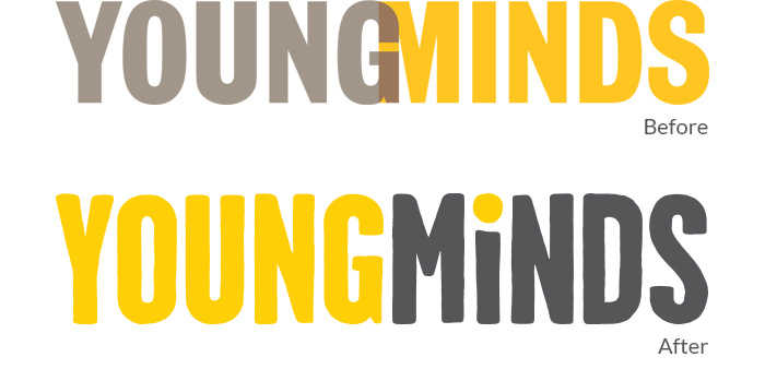 YoungMinds Logo Development