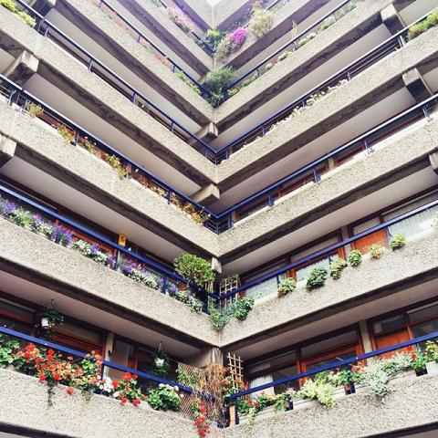 The beautiful Barbican #barbican #london #architecture