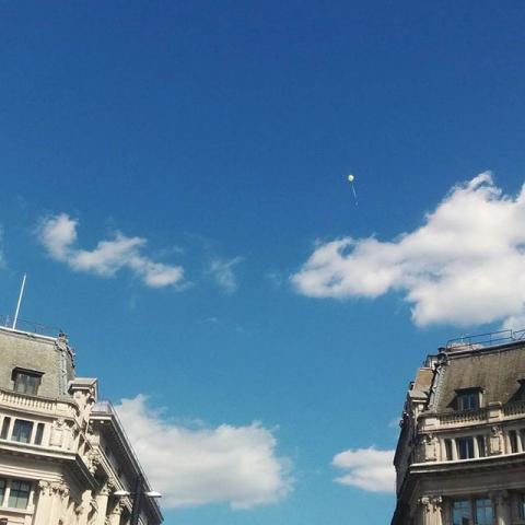 #lostballoon