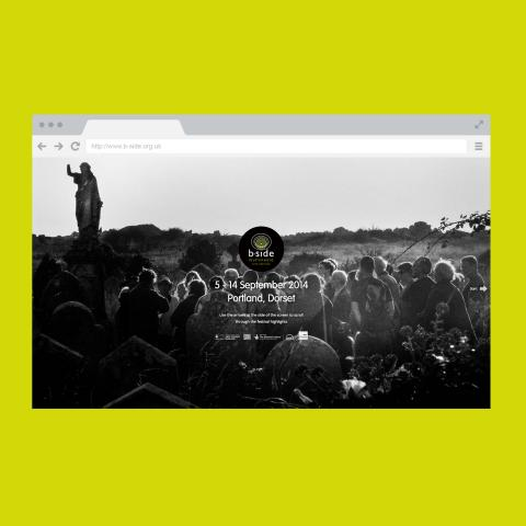 B-Side Arts Festival Website Design