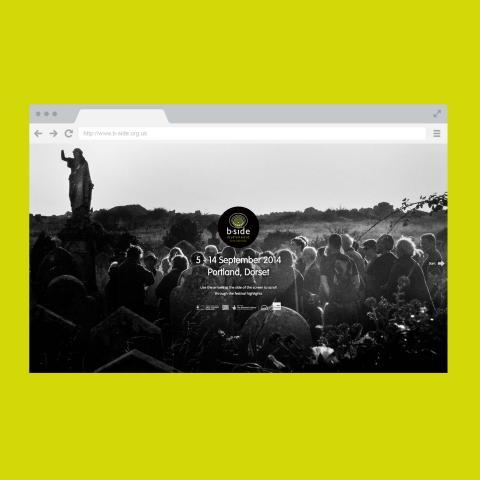 B-Side Arts Festival Website Design