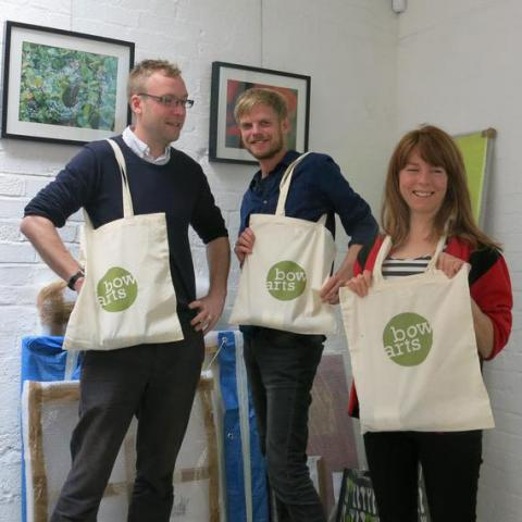 Bow Arts Tote Bag Design