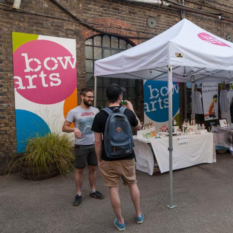 Bow Arts Outdoor Signage Design