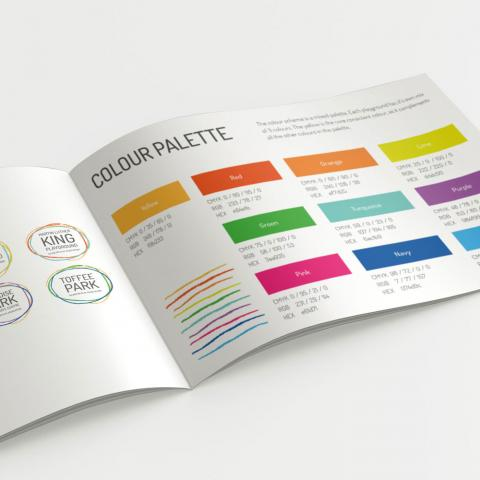Brand guidelines for charity