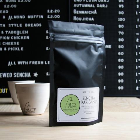 Comins Tea House Packaging Design