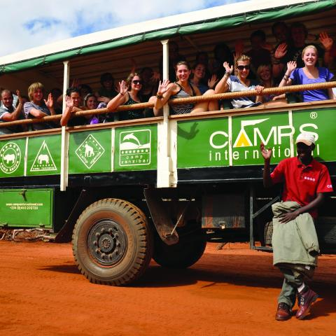 Camps International Travel Charity Branding Design