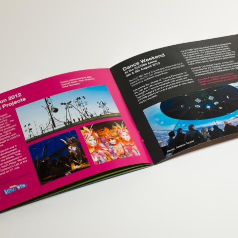 Activate Performing Arts Brochure Print Design