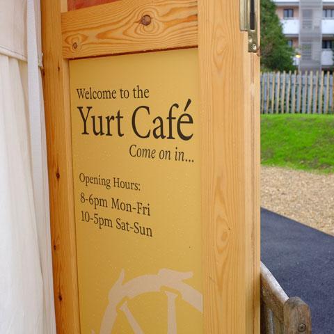Cafe Signage Design