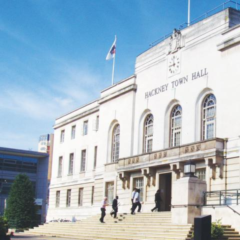 Hackney Town Hall Photography
