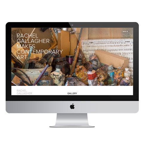 Artist Portfolio Website Design & Development