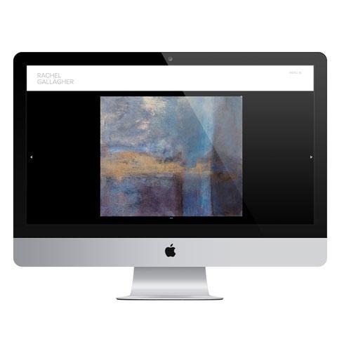 Responsive Artist Web Design