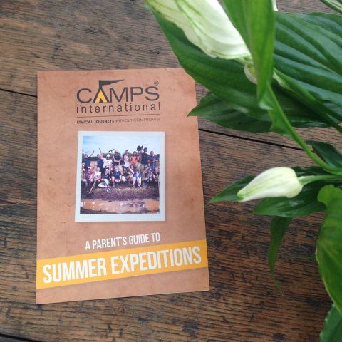 Camps International Print Marketing Design