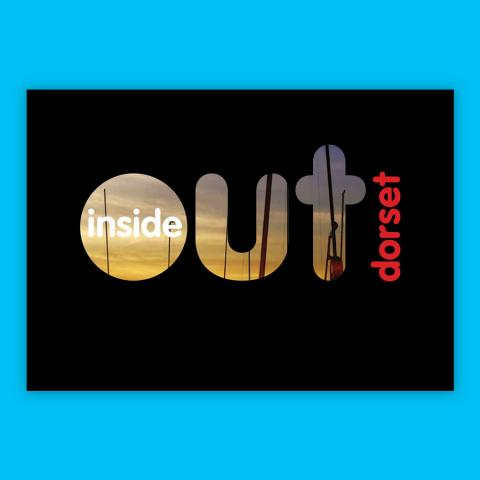 Inside Out Dorset Festival Marketing Design