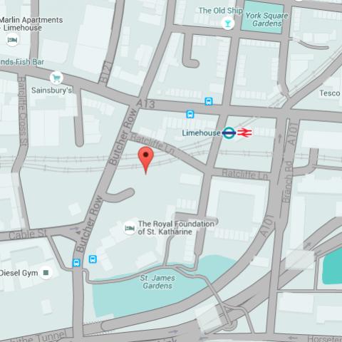 St Katharine's Precinct Interactive Map