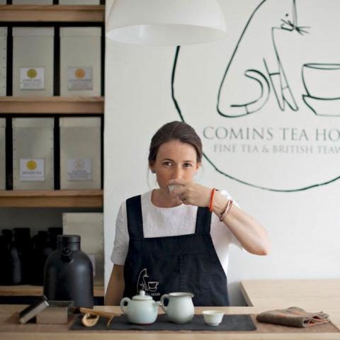 Comins Tea House Michelle Comins