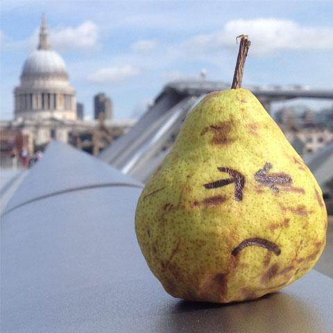 Unhappy Pear