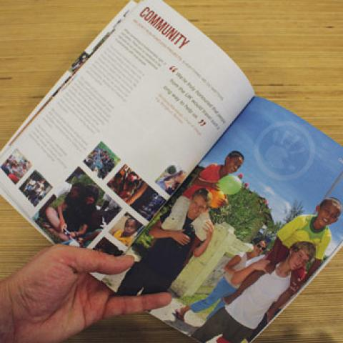 Camps International Brochure Print Design