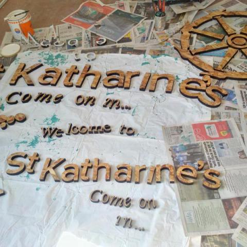 St Katharine's Precinct Signage Design
