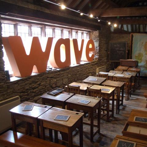 Wave Arts Education - Branding in a Museum