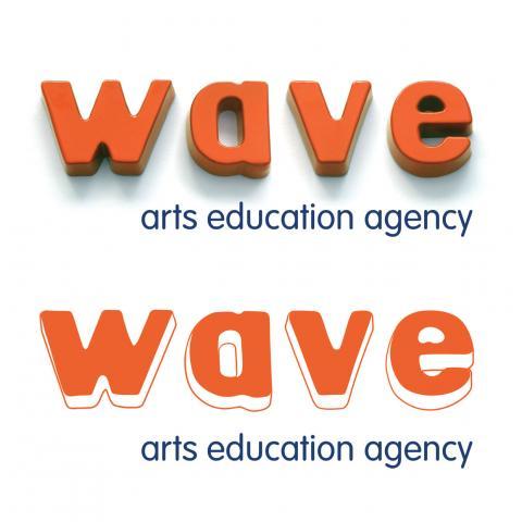 Wave Arts Education Logo Development