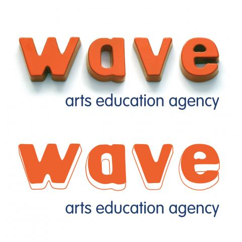 Wave Arts Education Logo Development