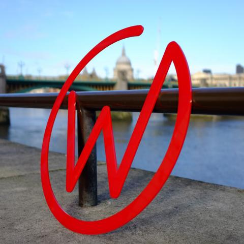 Wired Canvas - Logo on the Southbank