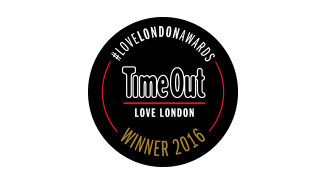 Winner TimeOut Love London Awards