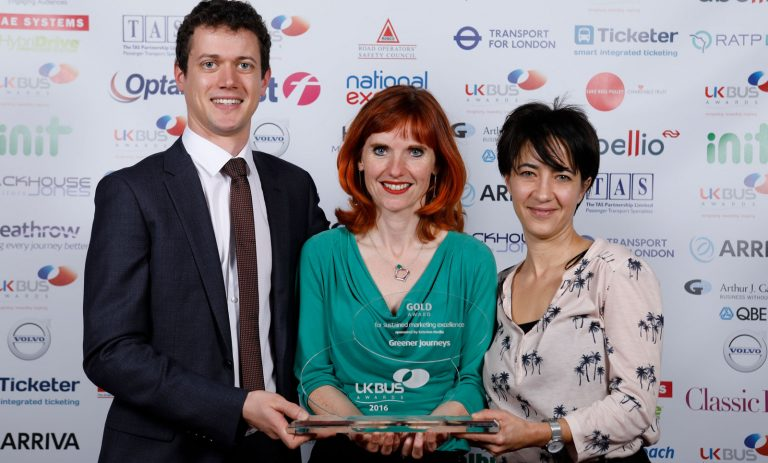 Greener Journeys Award Winning