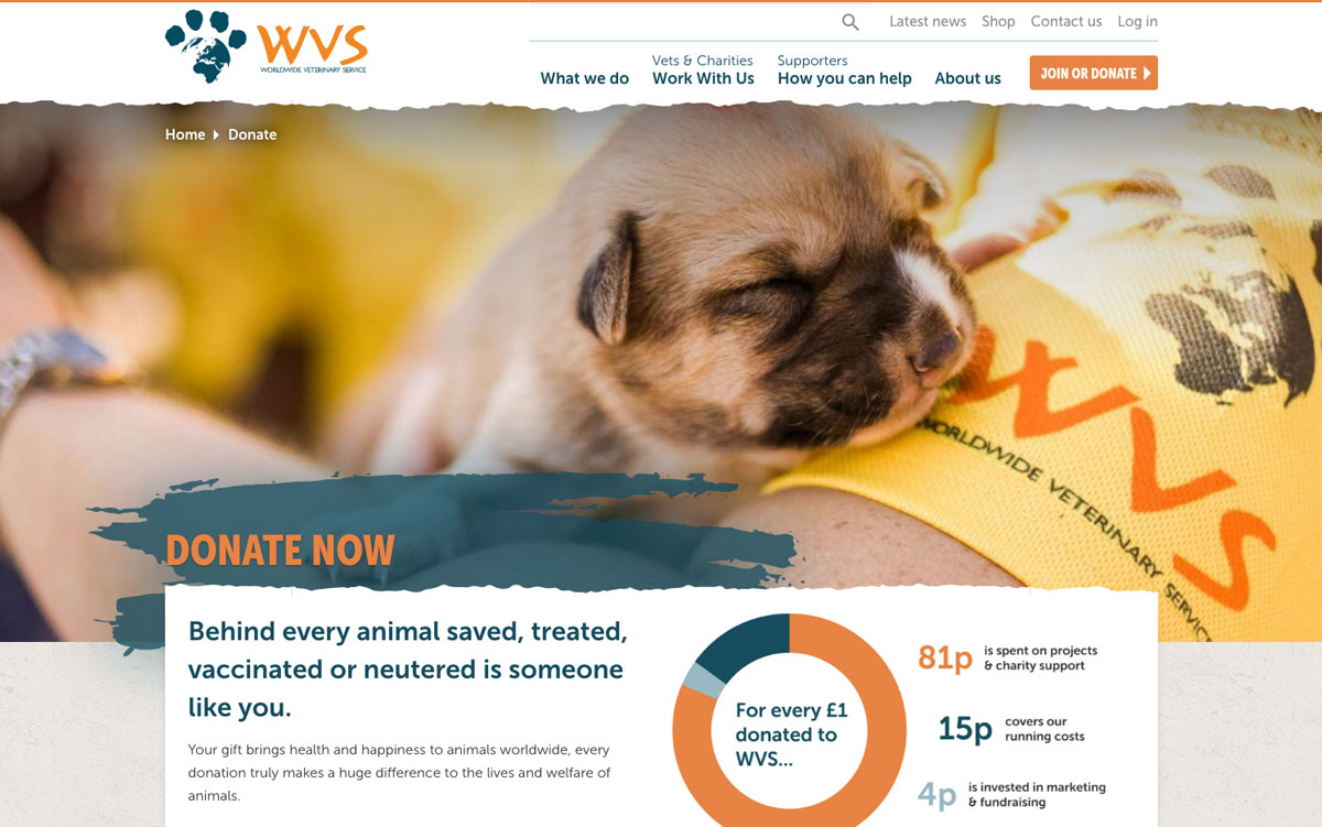 Worldwide Veterinary Service Homepage