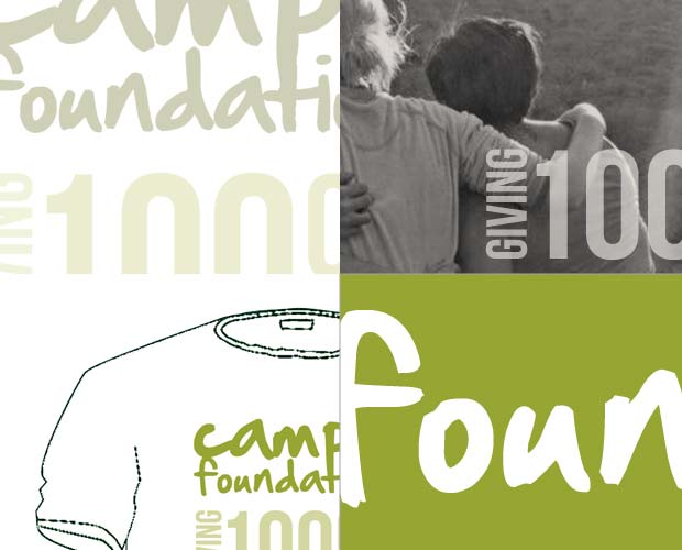 Camps Foundation Charity Rebrand