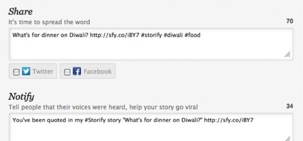 Storify Share and Notify